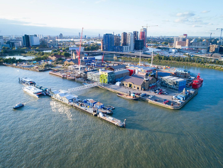 Trinity Buoy Wharf Pier