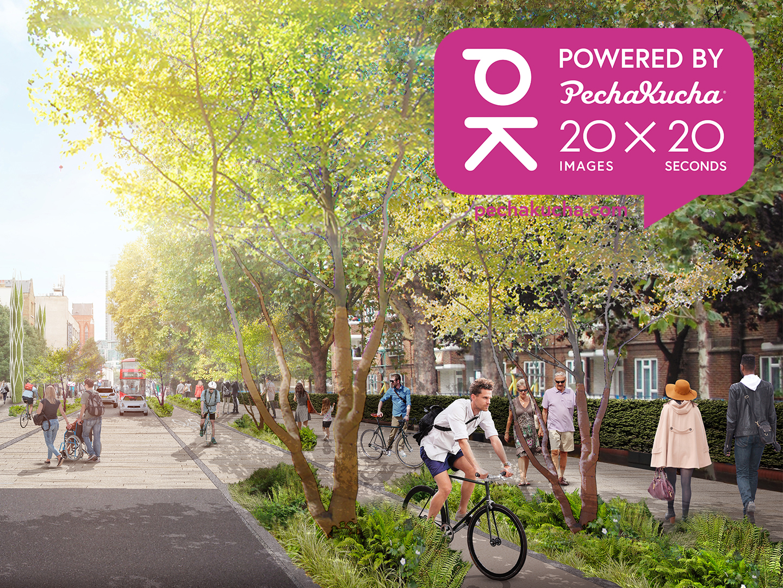 Future streets in post-pandemic London #BuildBackBetter