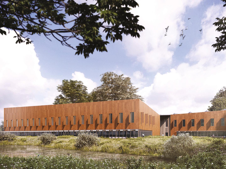 Zeus building, Harwell Campus