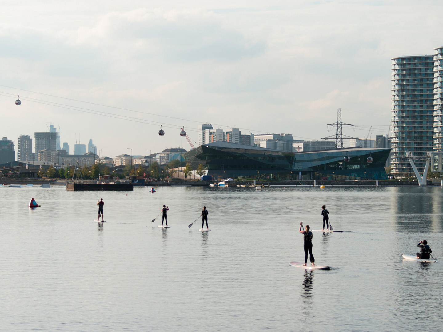 The Royal Docks: Equalising opportunity in Public Space