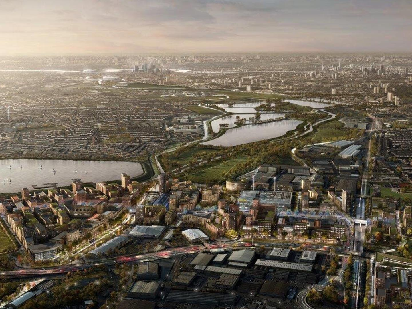 Unlocking Meridian Water: the next stage for Enfield's £6bn scheme