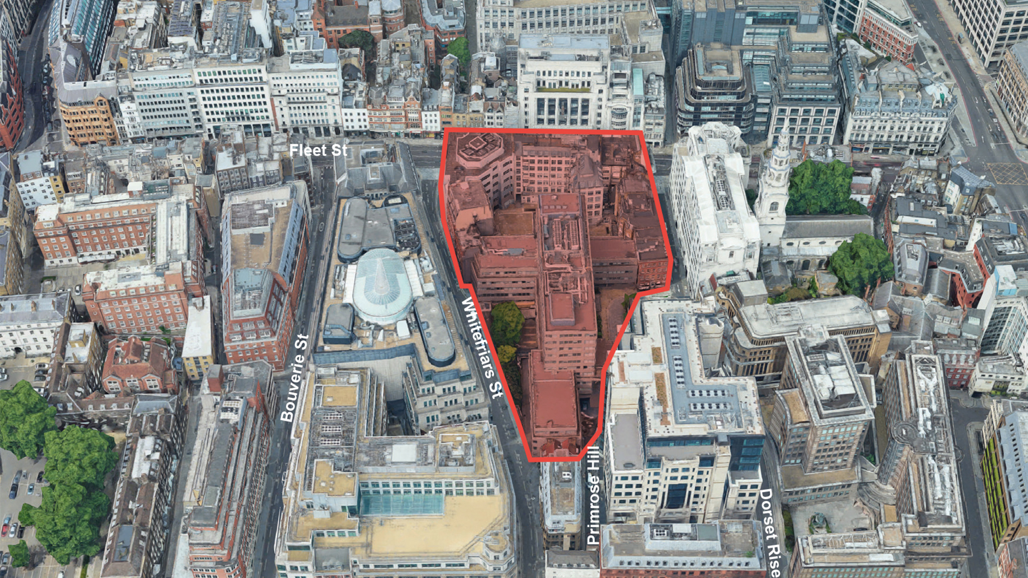 City of London unveils Fleet Street court and police complex plan