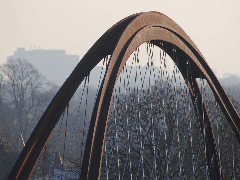 Chiswick Park Footbridge
