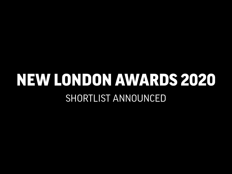 New London Awards 2020 Shortlist