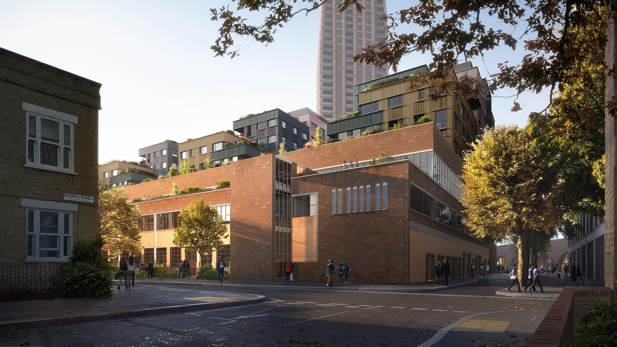 Building F, The Bermondsey Project