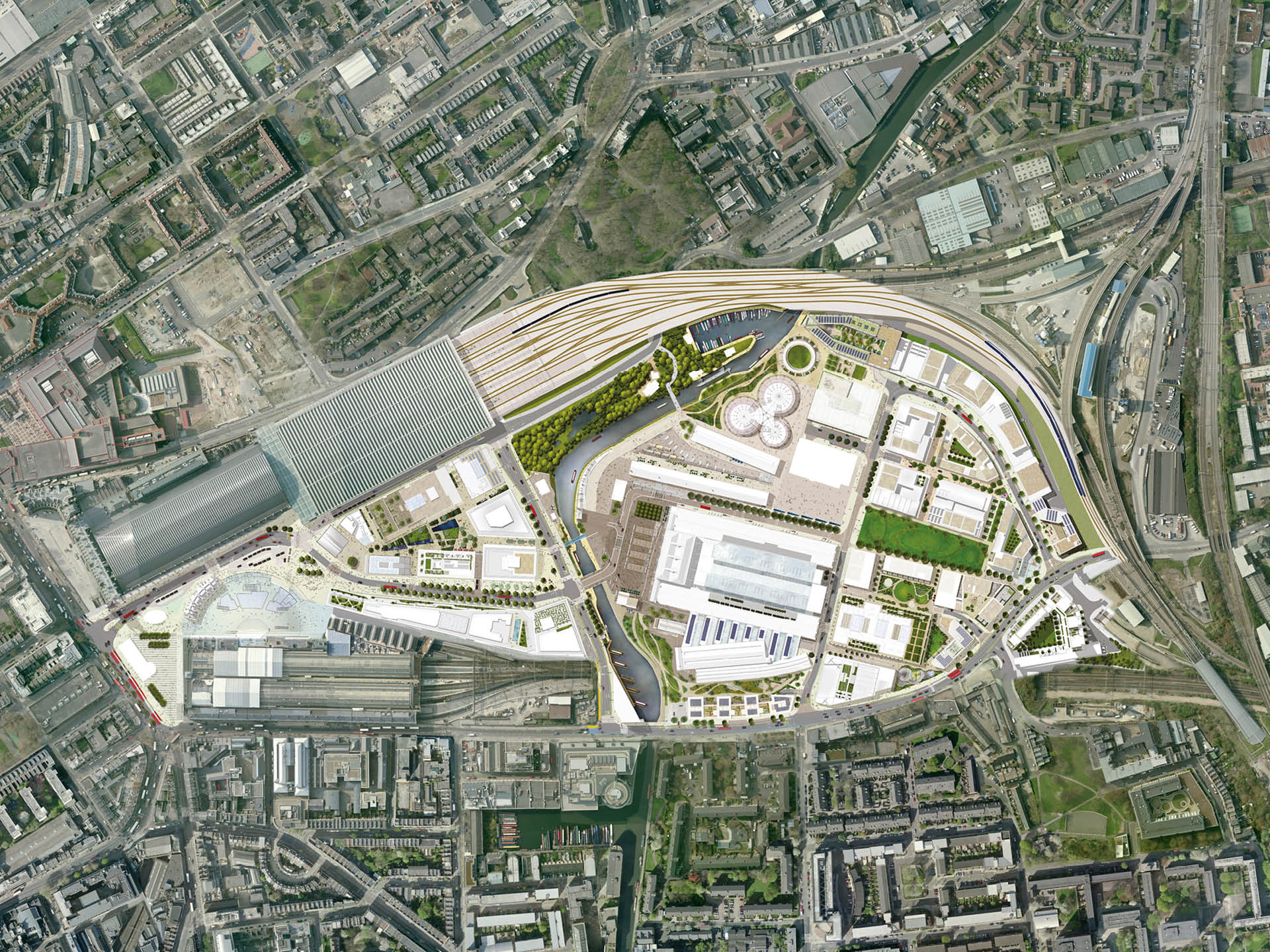 King's Cross Central Masterplan