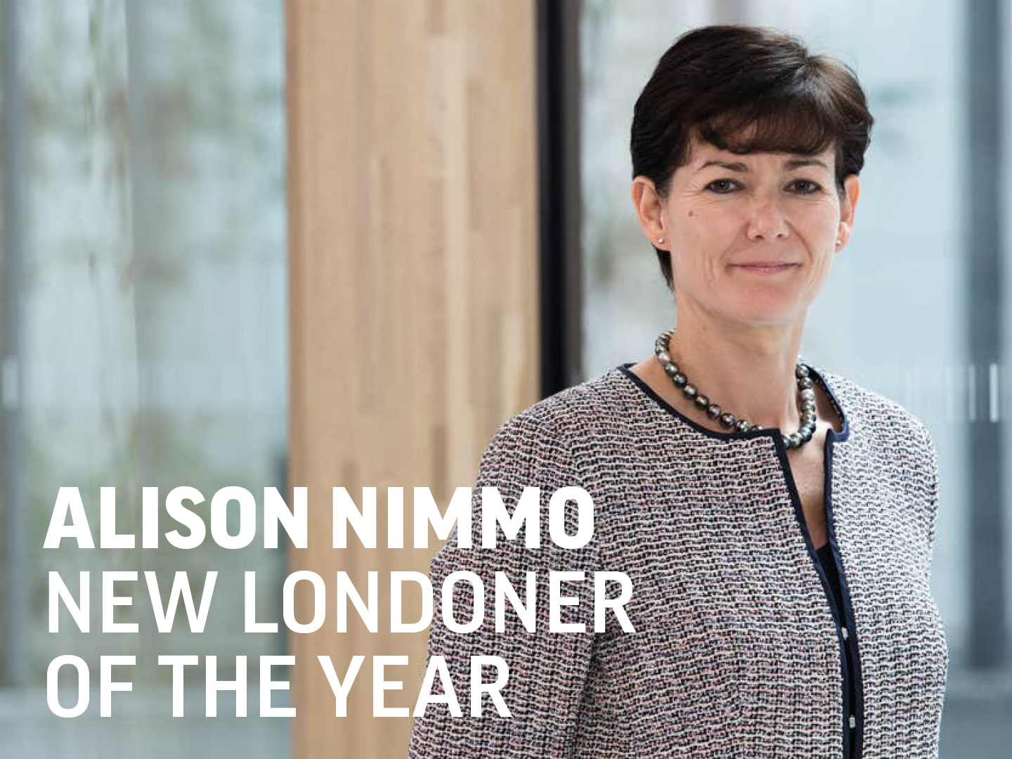 Alison Nimmo, New Londoner of the Year 2020
