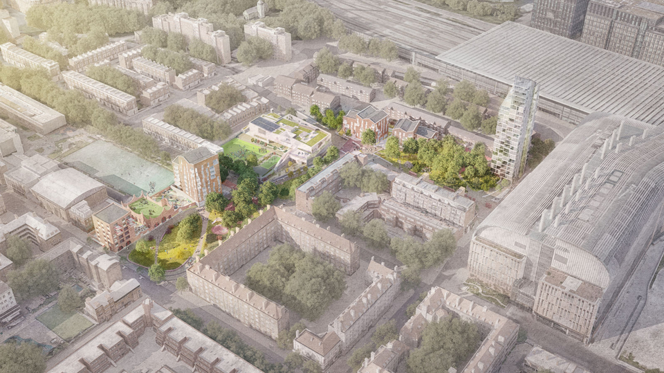'Supergroup' reimagines Central Somers Town