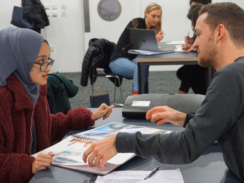 Undergraduate Portfolio Advice Surgeries for pupils in Year 12 and 13