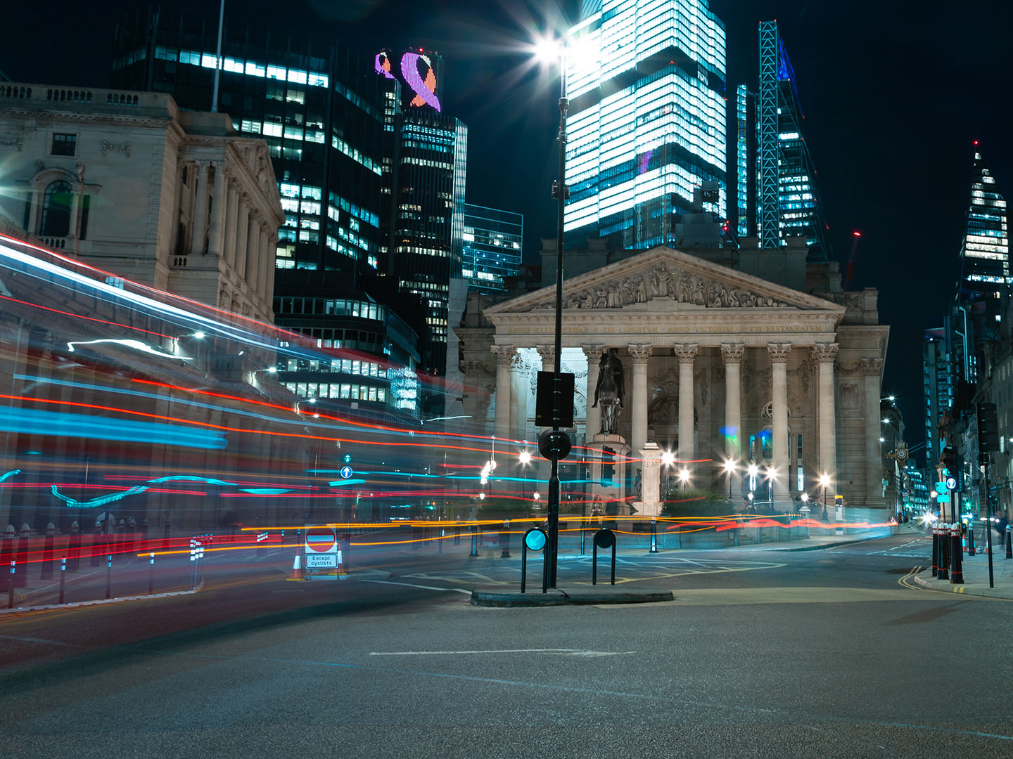 City Nights: the future of lighting in the City of London
