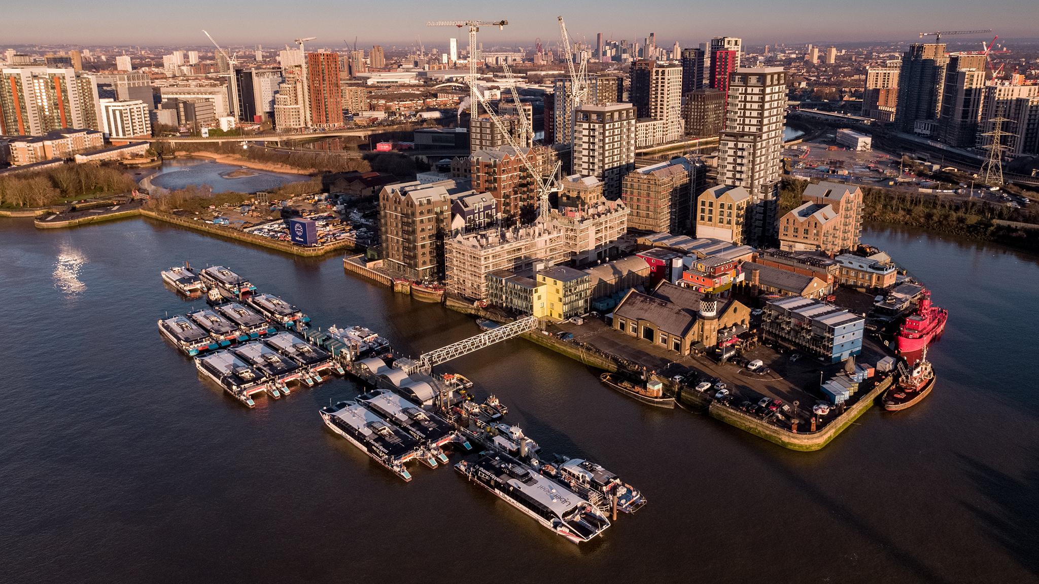 Trinity Buoy Wharf.  Masterplan. Phase 1