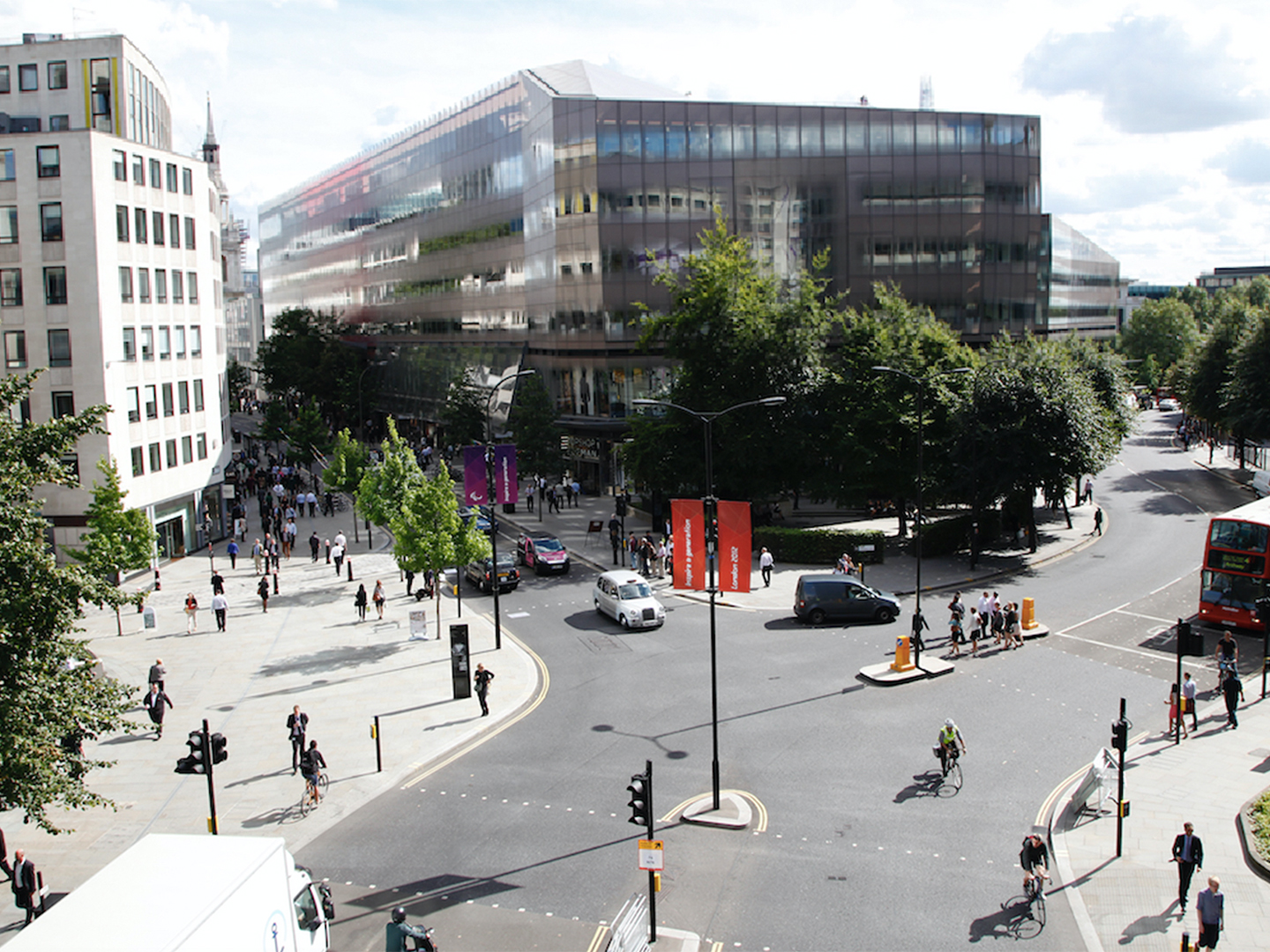 Shortlist announced for competition to revolutionise the traditional Police Box in the Square Mile