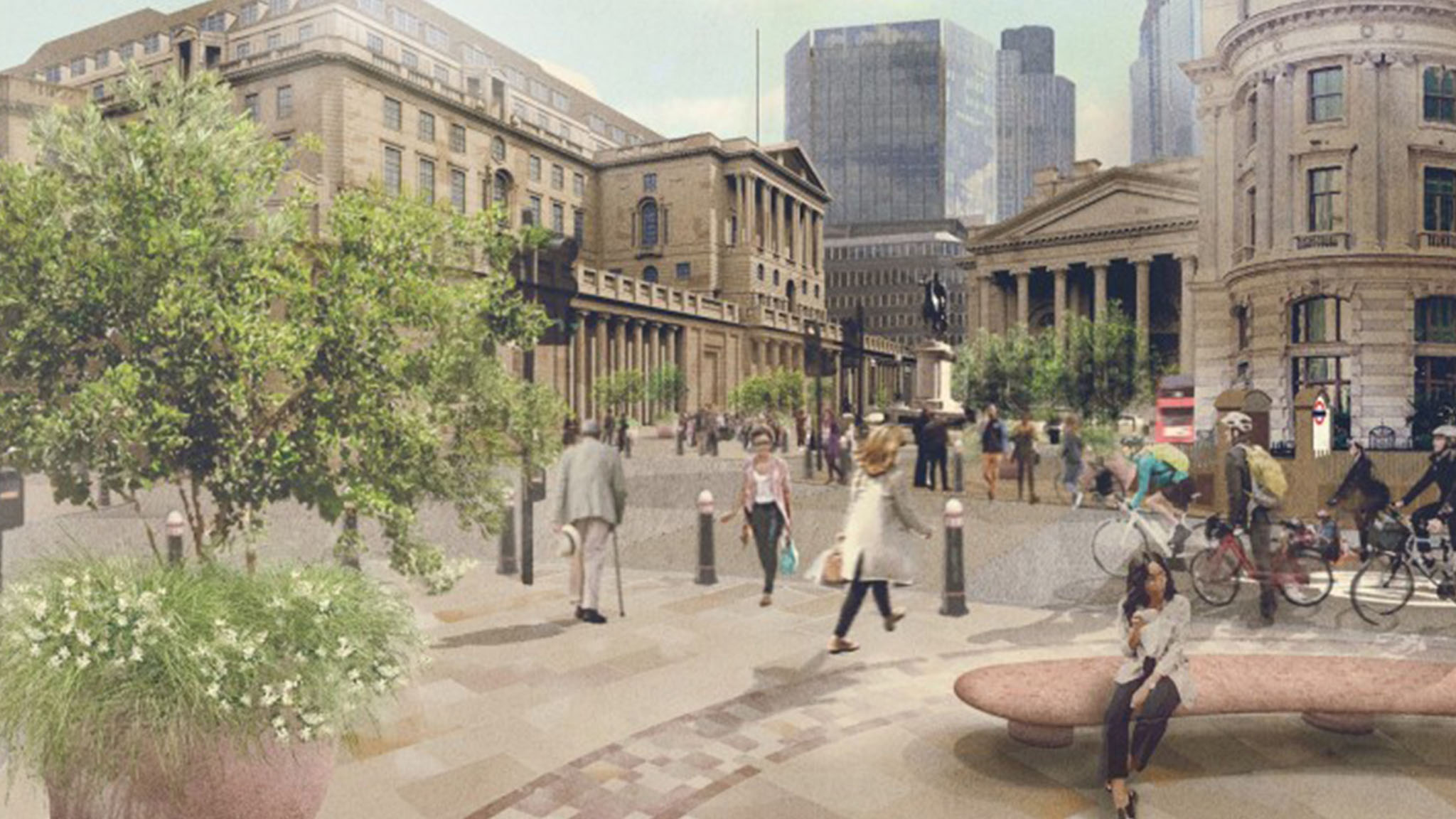 The City banks on creating 'world-class welcoming heart'