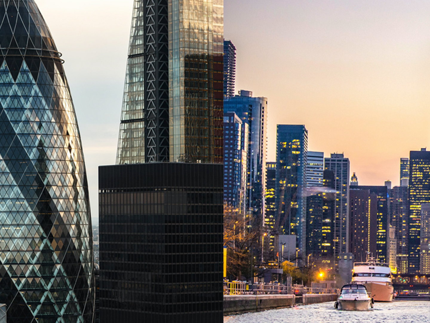 London and Chicago in conversation: tall buildings and the zero carbon agenda