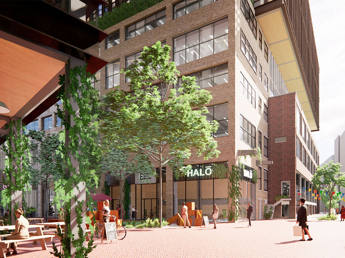 Timber Square – pioneering zero carbon office development