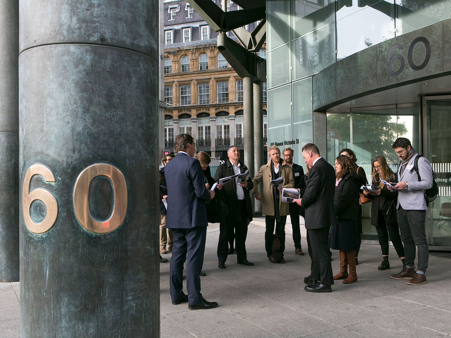 New London Architecture Walking Tour – The City