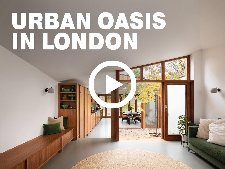 Urban Oasis: Cloistered House