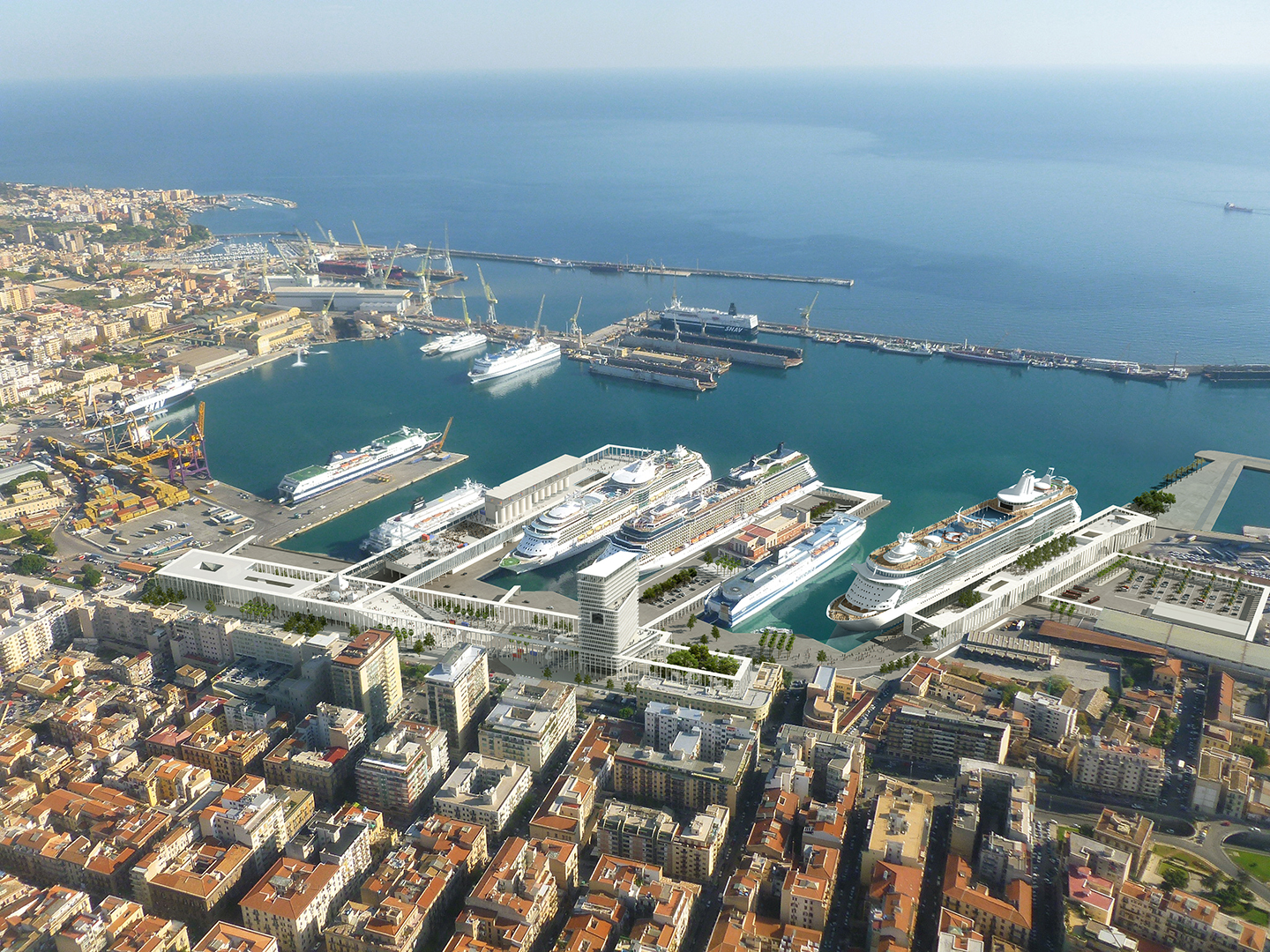 Palermo Cruise Terminal Design Competition