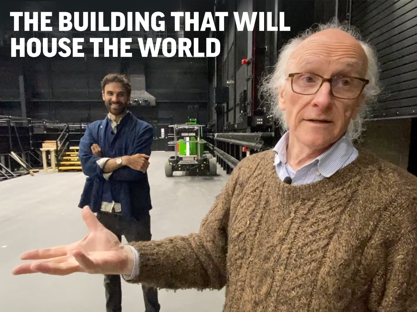 The building that will house the world