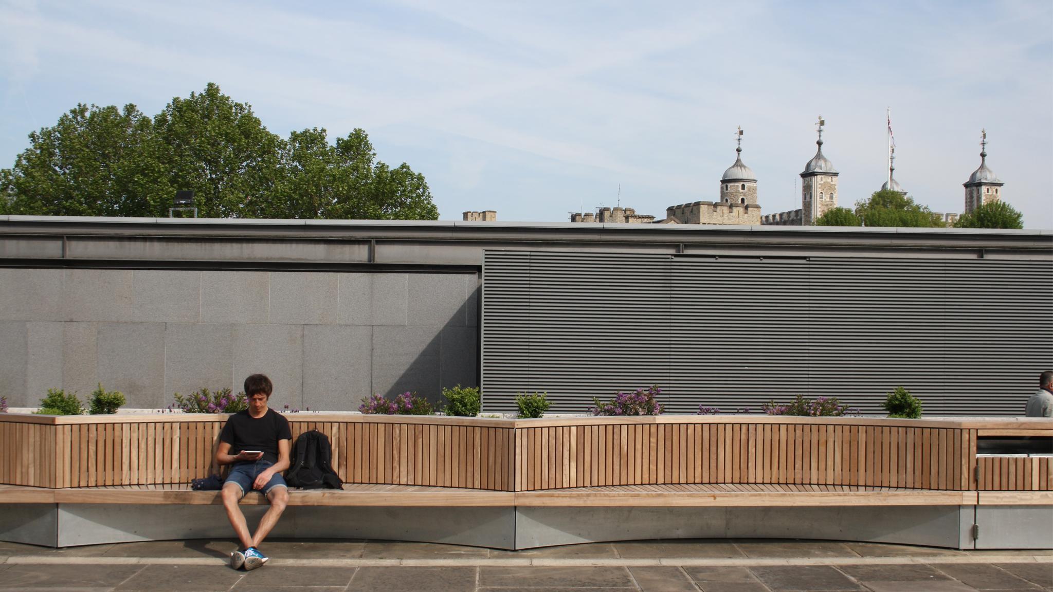 Tower Hill Terrace Courtyard Garden