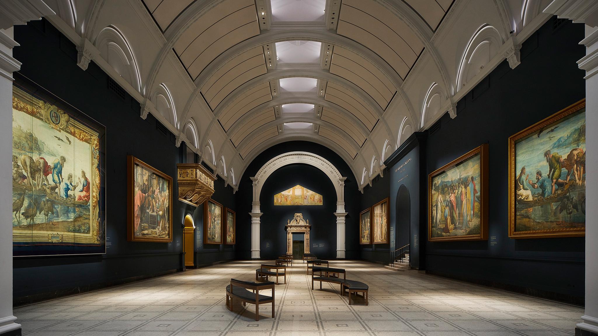 V&A Raphael Court