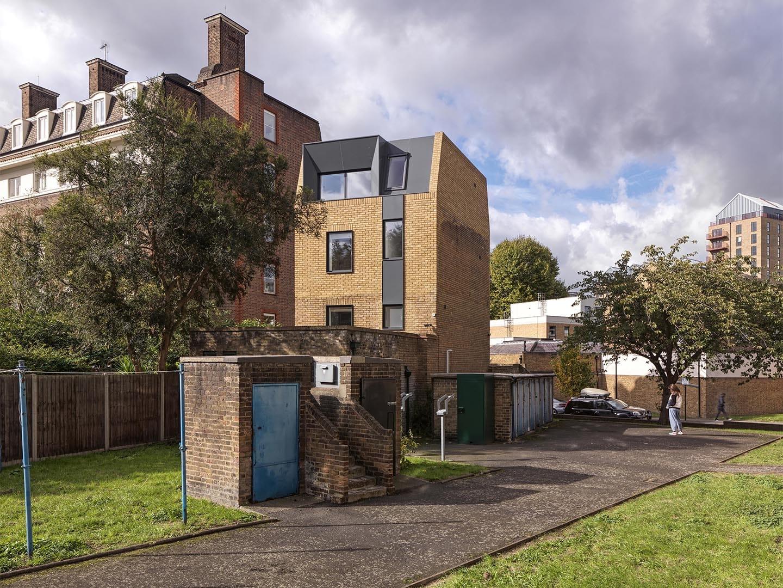 Cloak House, Threefold Architects