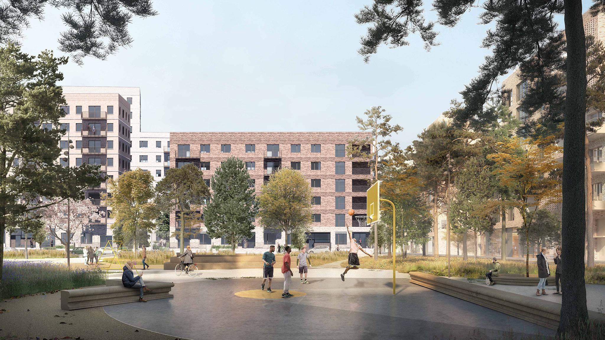 Gascoigne Estate Regeneration (Placemaking Strategy, East Phase 2, West Phase 1 + 2)
