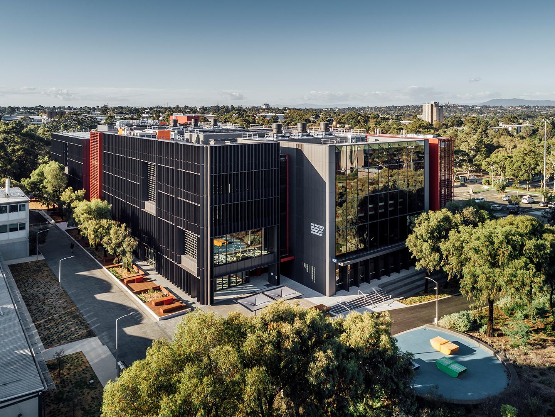 The Monash University Woodside Building for Technology Design