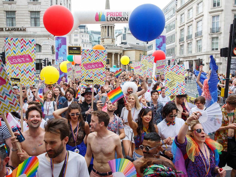 London's Pride: celebrating LGBT+ spaces