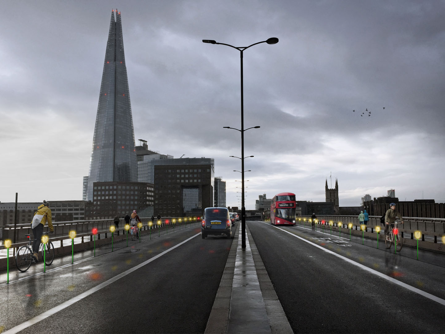 London set to bloom with active travel wands