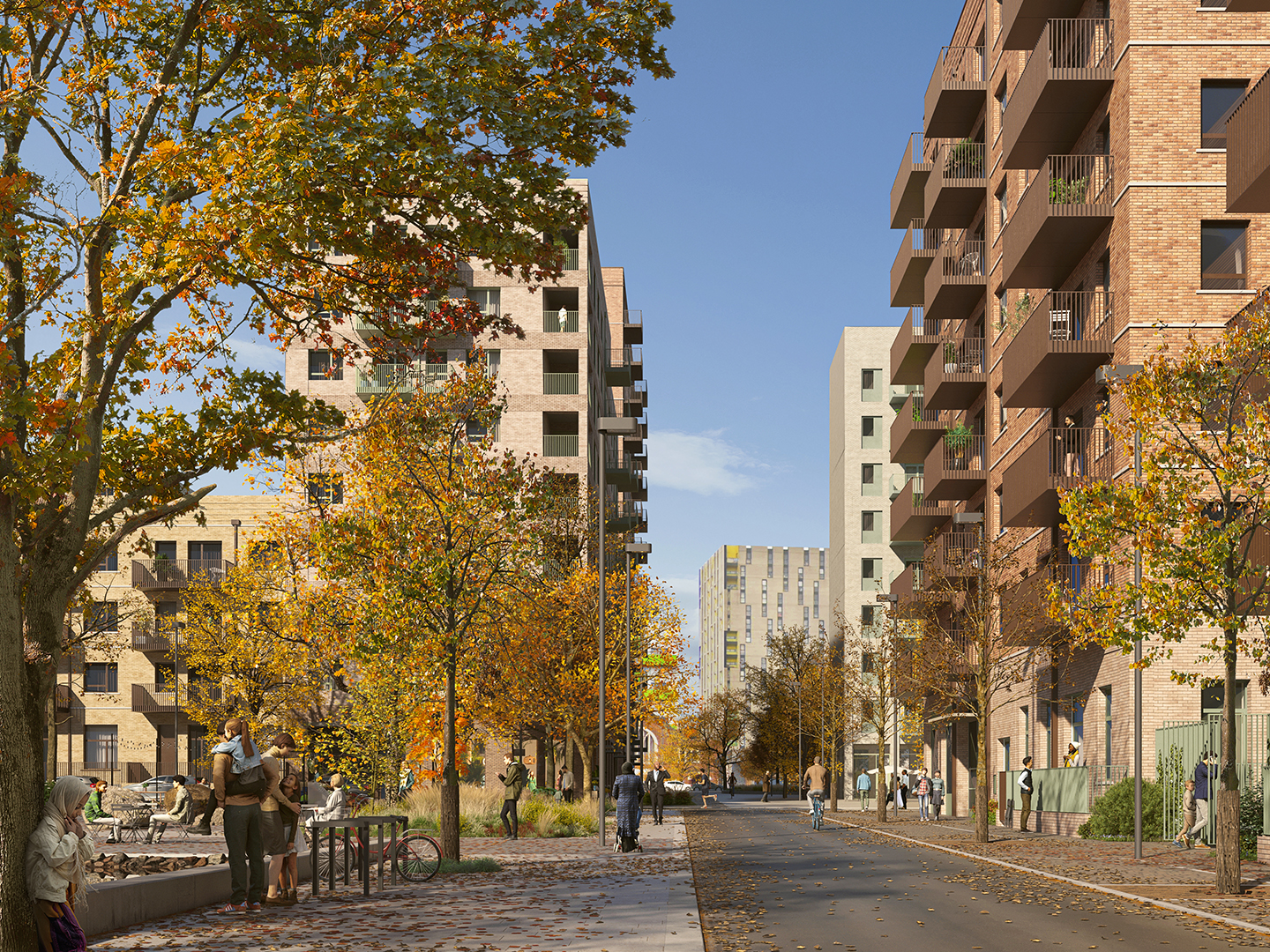 Gascoigne Estate focuses on nature-based solutions and MMC