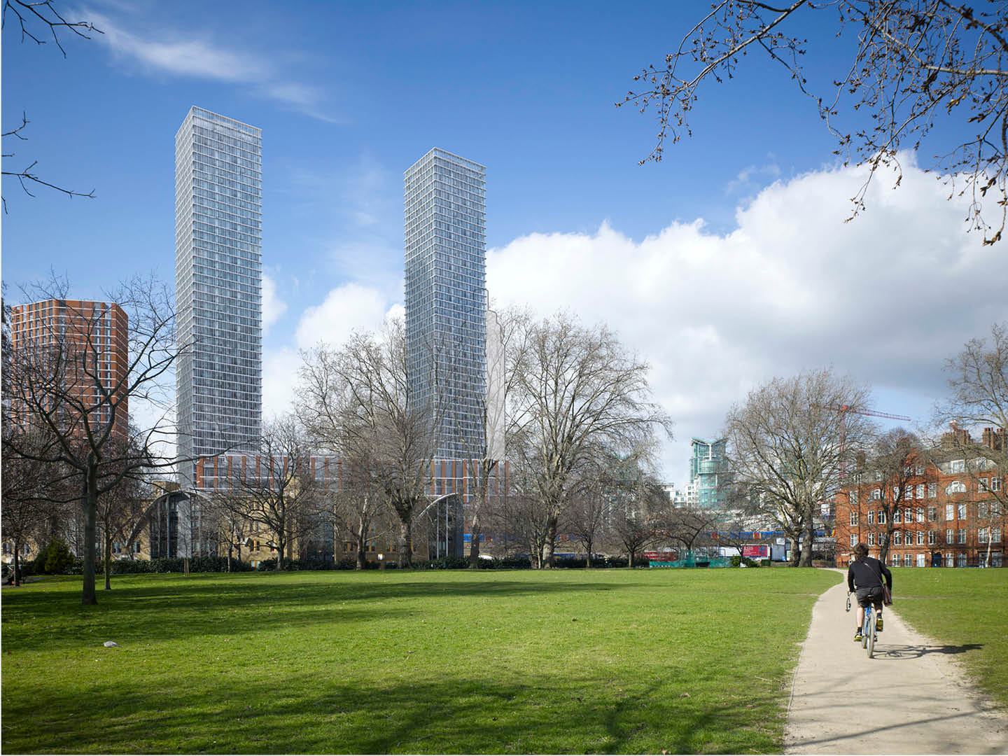 Vauxhall Square - Tall Buildings