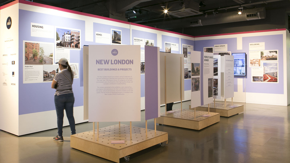 New London Awards 2018 exhibition