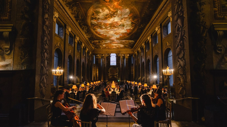 Painted hall dinner raises thousands for charity