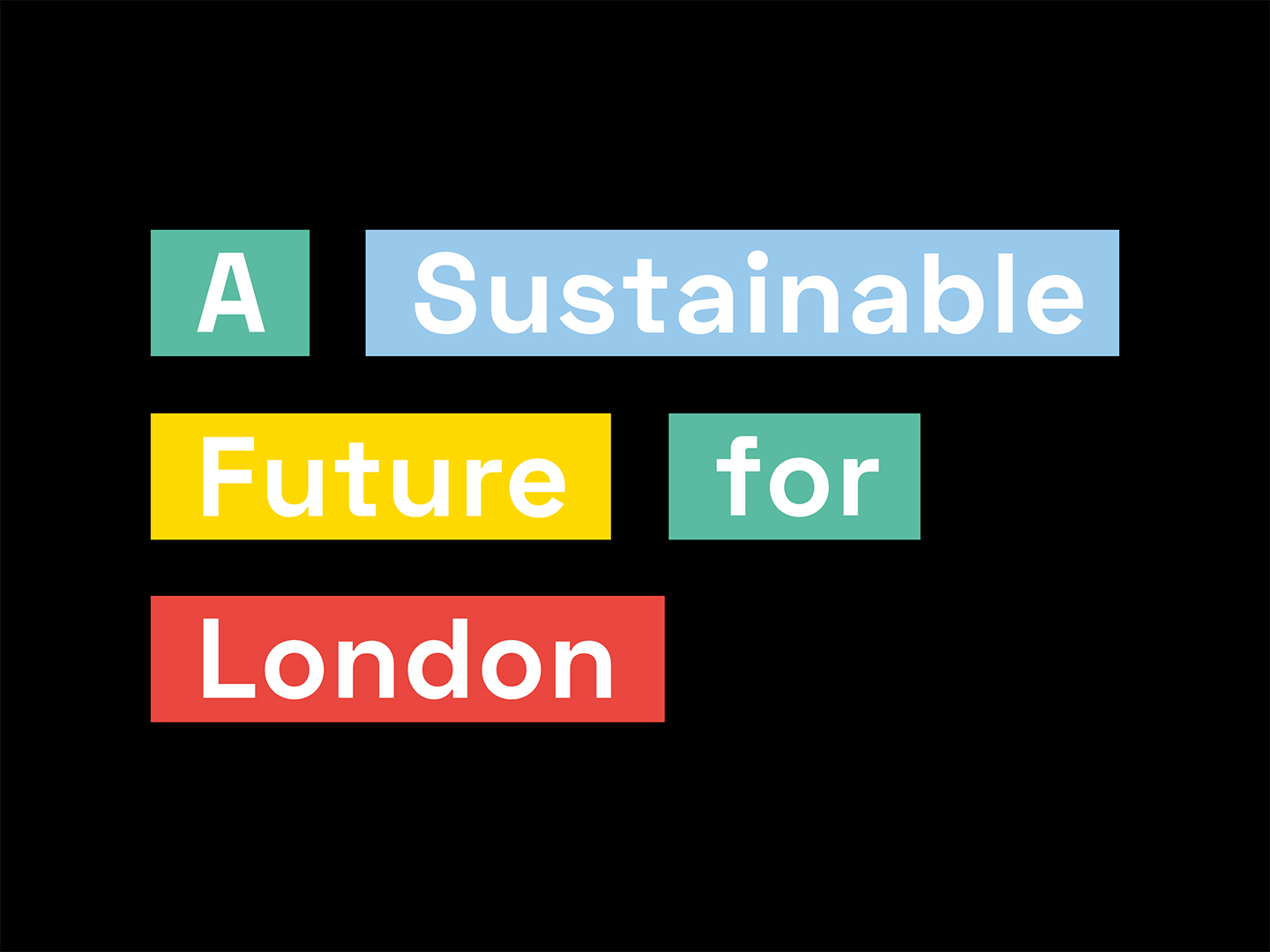 'A sustainable future for London' through the eyes of young people