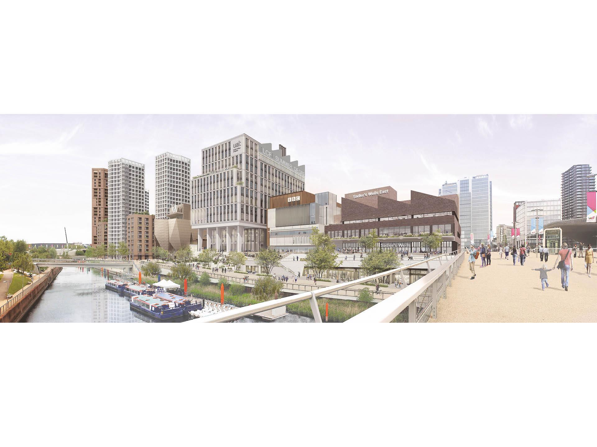 Stratford Waterfront masterplan