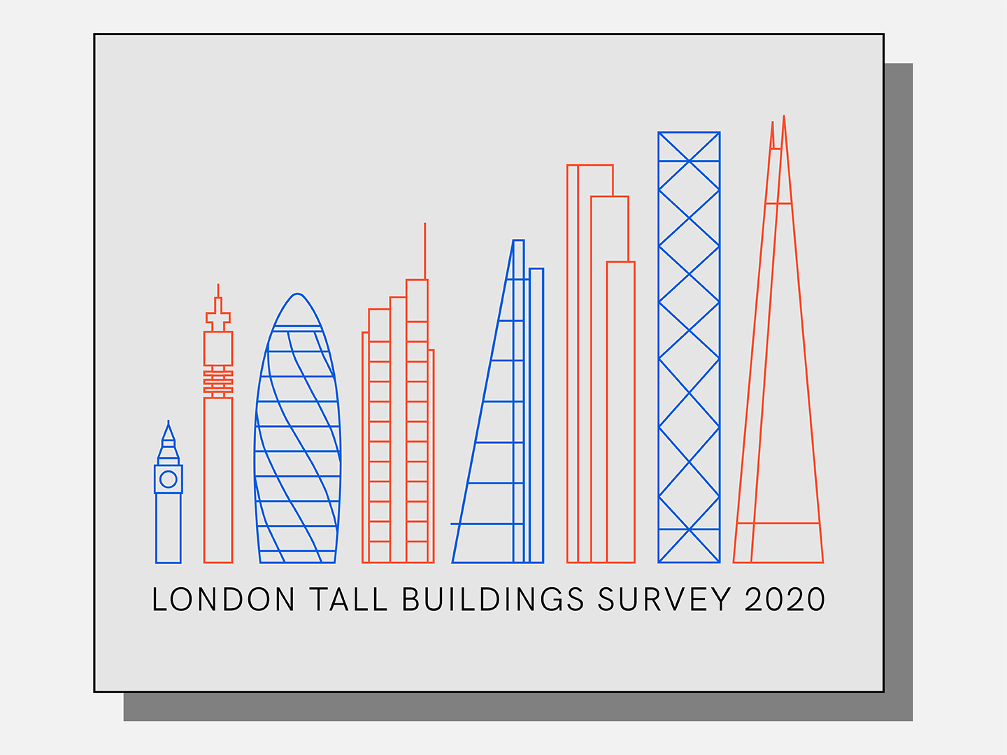 Record number of tall buildings added to London's skyline in last year